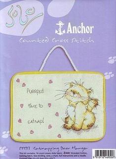 Журнал Anchor STC03 - Cat Napping Door Hanger