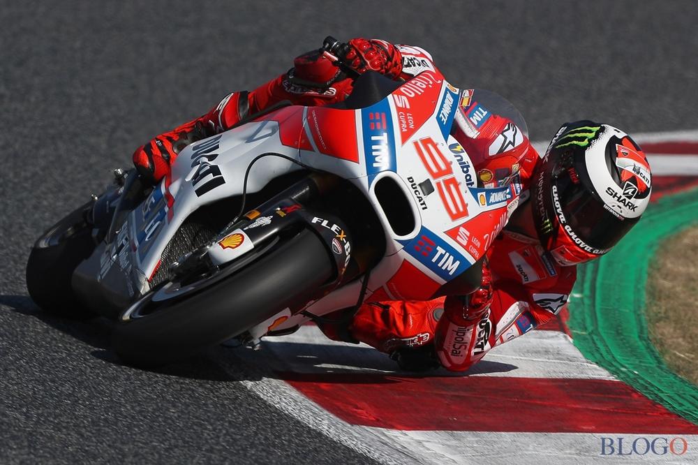 Результаты двухдневных испытаний MotoGP в Барселоне