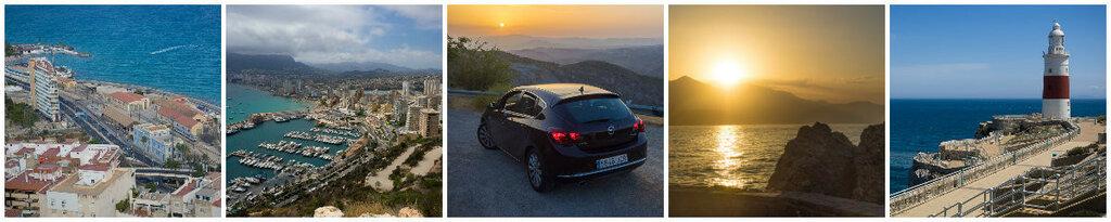 Южная Испания на Opel Astra