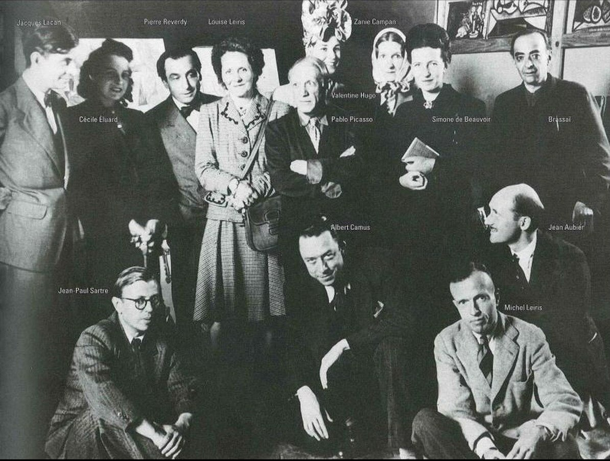 1944. В мастерской Пикассо