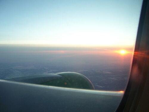 Рассвет над Иркутском**