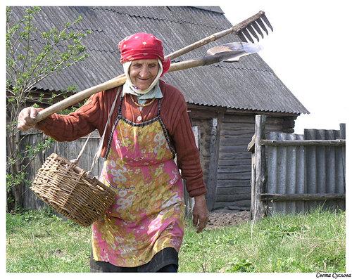 Фото русская баба