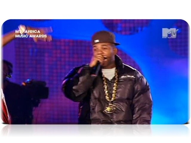 The Game - My Life (MTV Africa Music Awards 2008)