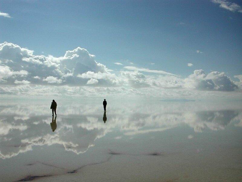 природное зеркало
