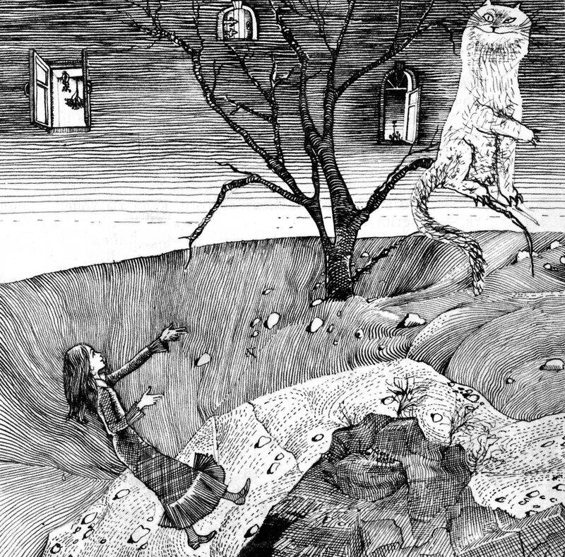Приключения Алисы в Стране Чудес Сказка, рассказанная Борисом Заходером Иллюстрации Г.Калиновского Издание 3-е (Школьная библиотека для нерусских школ) Москва: Детская литература, 1977