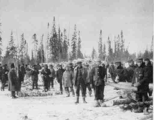 Лагерь для интернированных в Спирит Лайк, 1916