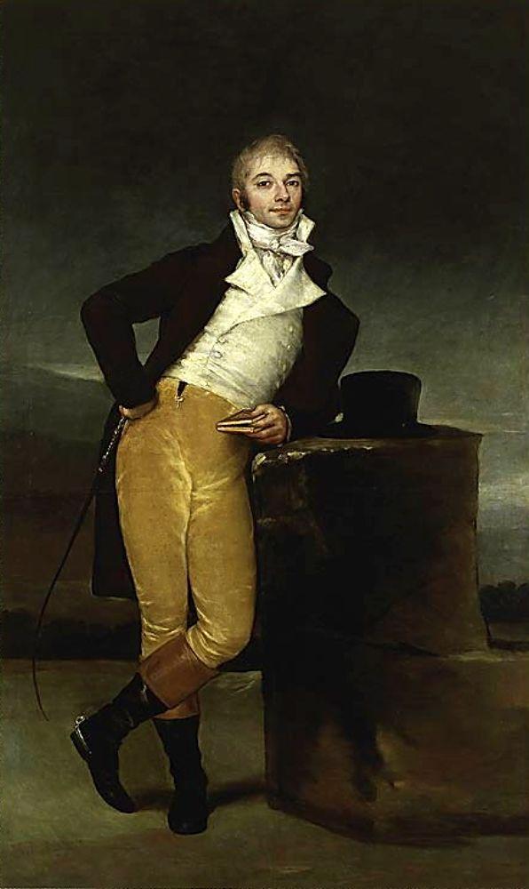 Гойя. Маркиз де Сан Адриан. 1804г.