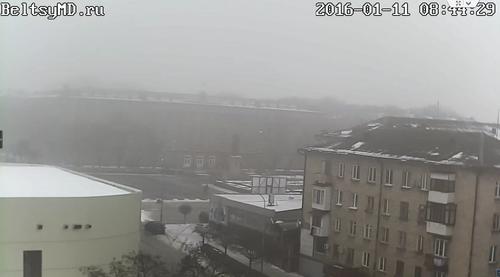 Весна в городе Бельцы наступила на месяц раньше обычного