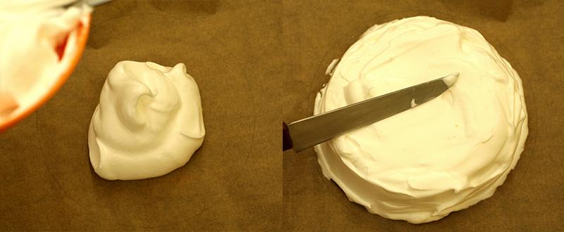 Торт Павлова - простой пошаговый рецепт с фото #7.