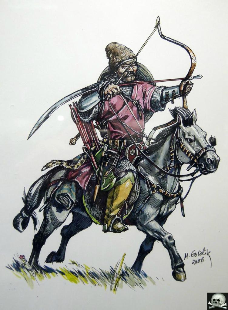Золотоордынский лёгкий всадник, 13-14 вв..jpg