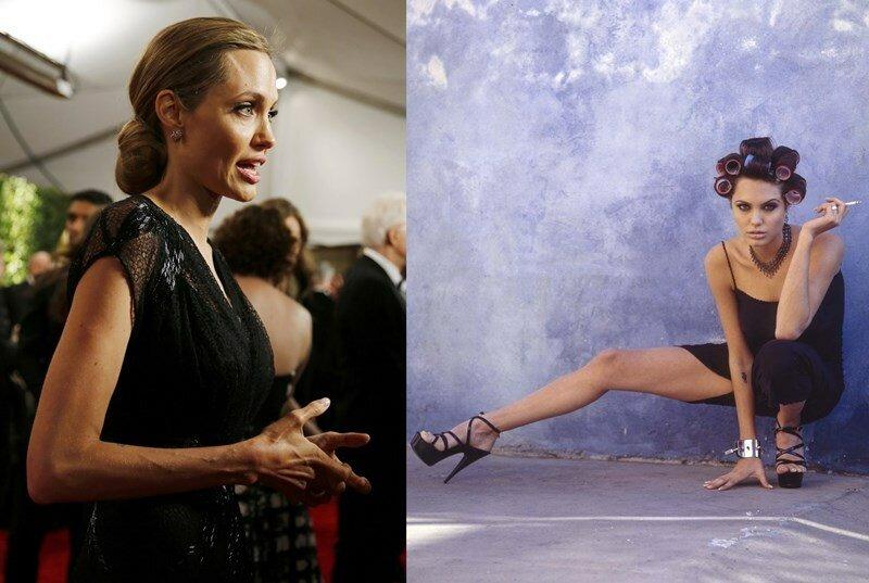 Откровенные фотографии 20-летней Анджелины Джоли