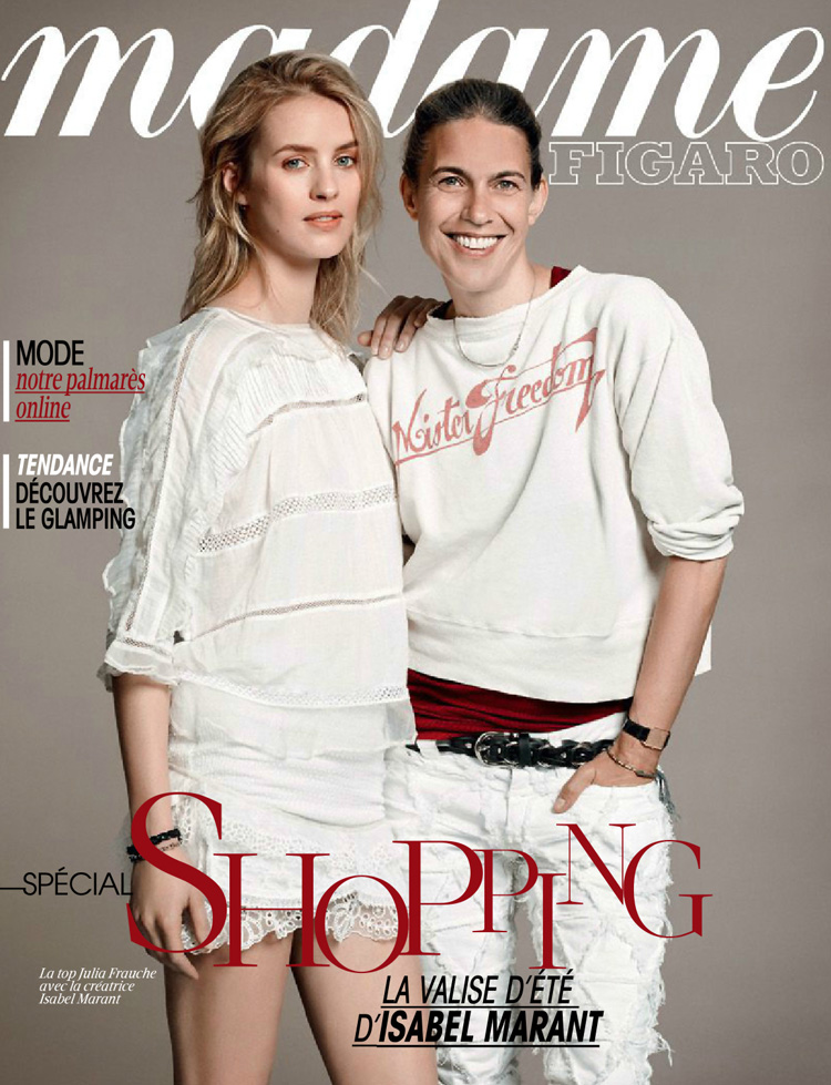 Изабель Маран и Джулия Фрош для Madame Figaro