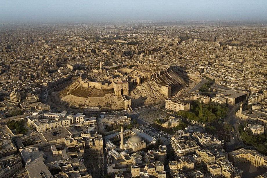 16. Цитадель Алеппо, Сирия .