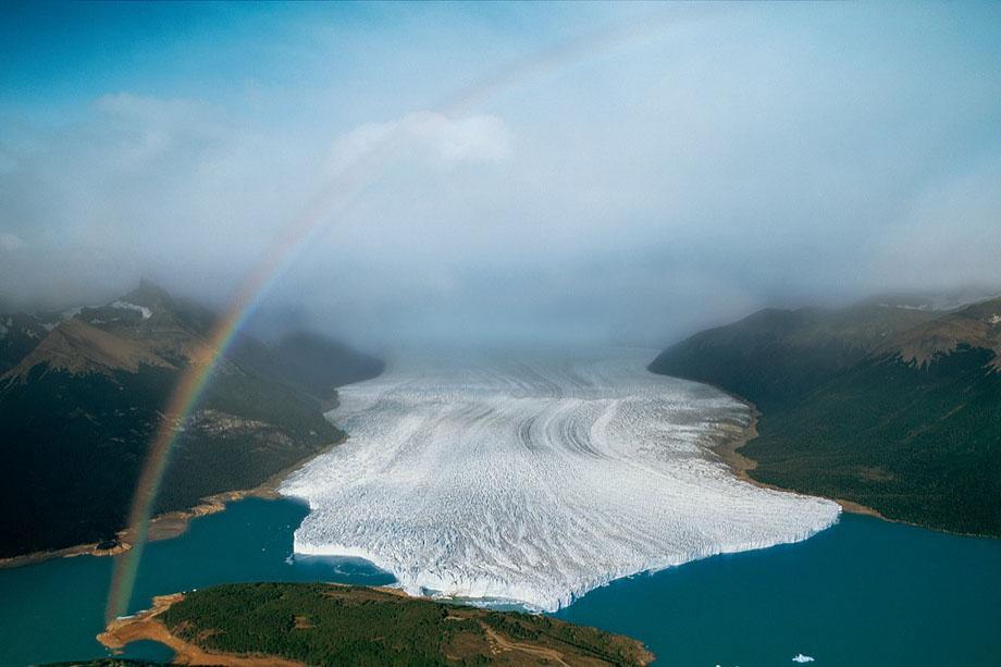 24. Ледник Перито Морено, недалеко от аргентинского города Эль Калафате в аргентинской провинции Пат