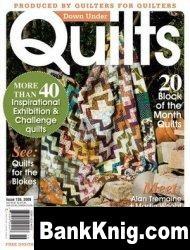 Журнал Down Under Quilts №136 September 2009 pdf 19,7Мб