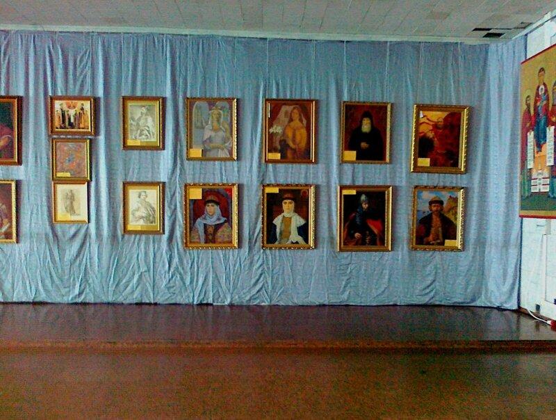 Выставка исторической живописи