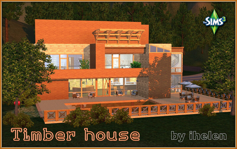 Timber house by ihelen