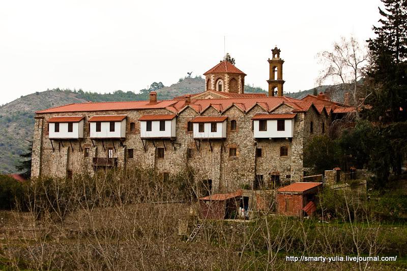 Монастырь в Никосии, Кипр