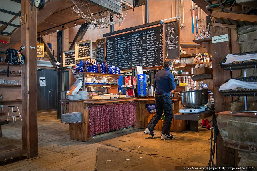Сельские рестораны в Финляндии