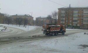 Владивосток борется с последствиями снегопада