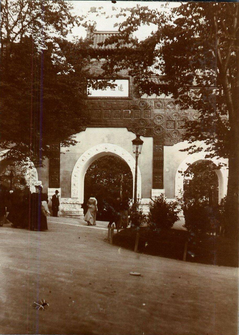 1900. На Всемирной выставке
