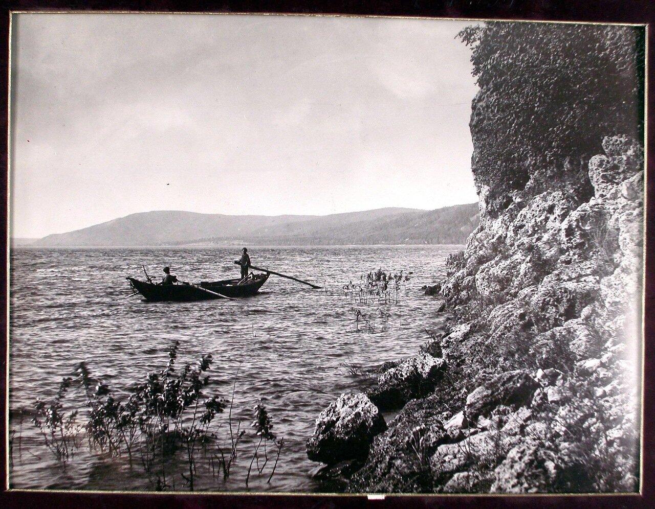 34. Рыбаки на Волге вблизи Молодецкого кургана