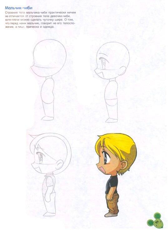 Как рисовать чиби – персонажей?