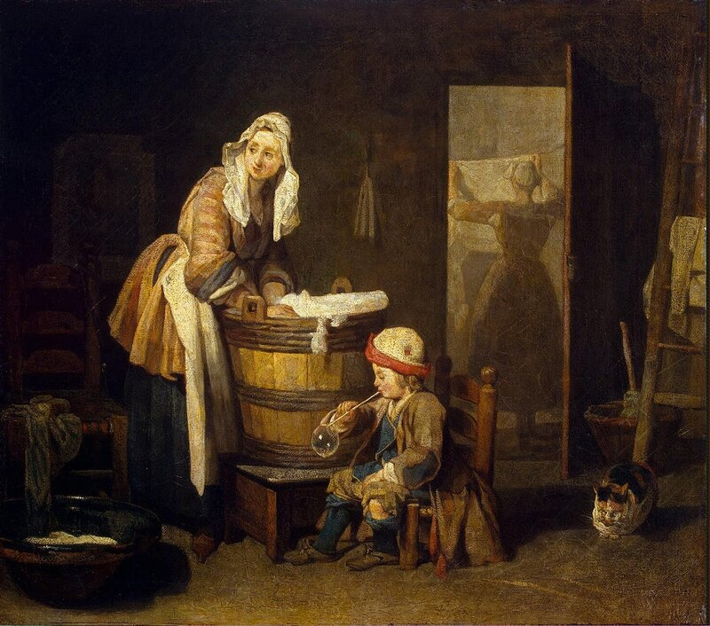 Chardin Jean-Simeon - Laundress - GJ-1185