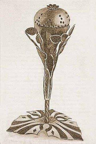 Ларец с благовониями для церемонии хавдалы. Из коллекции Г. Фрайбергера (Франкфурт-на-Майне). Джуиш энциклопедия (1901–1912).