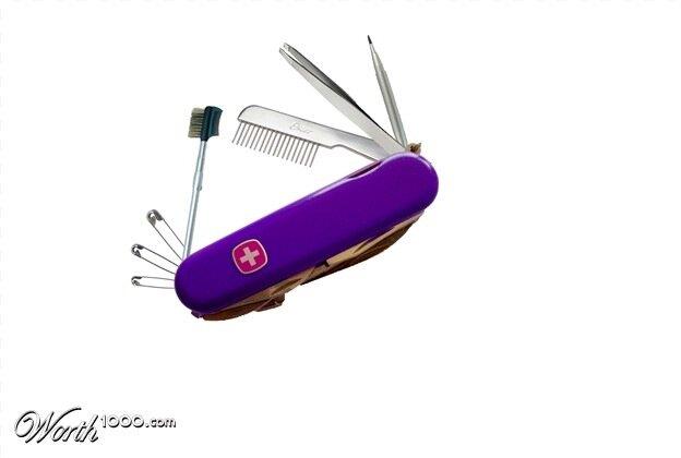 перочинный нож женский вариант