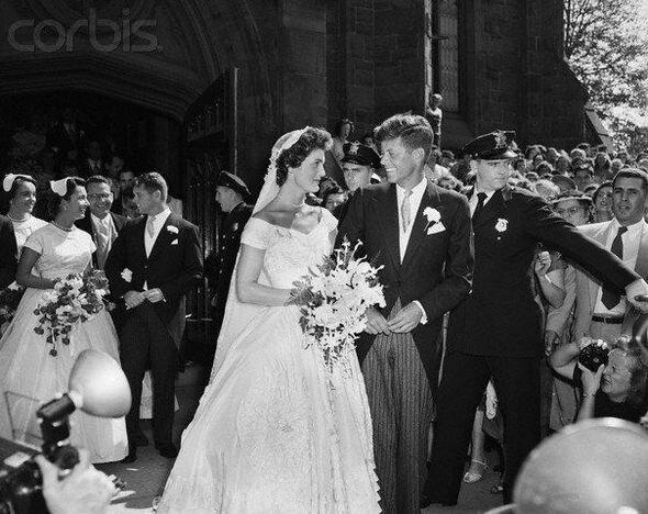 Свадьба Джона Кеннеди и Жаклин Бувье, 12 сентября 1953 года