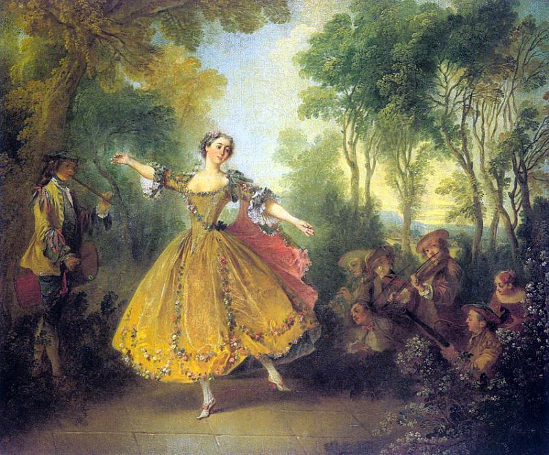 Николя Ланкре, Танец.jpg