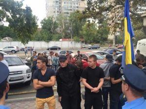Репрессии против националистов в Одессе (информация обновляется)
