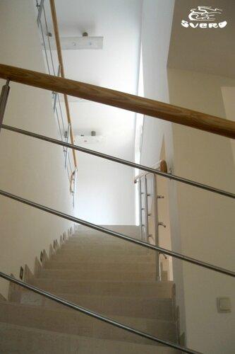 018. лестница на 2 этаж, ограждения лестницы