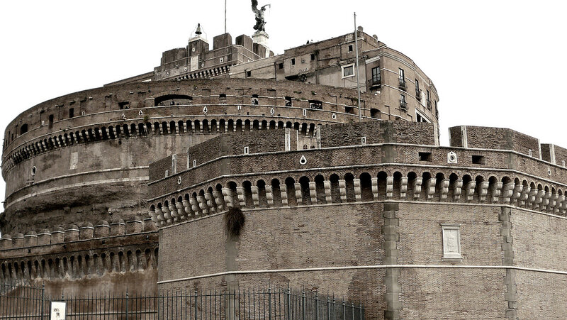 Rim.Zamok Sant'Angelo