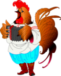 Петух - символ 2017 года