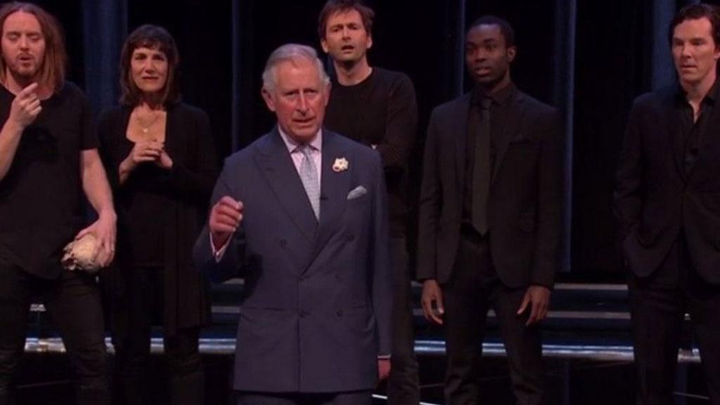 Принц Чарльз сыграл вкомедийном скетче по«Гамлету»