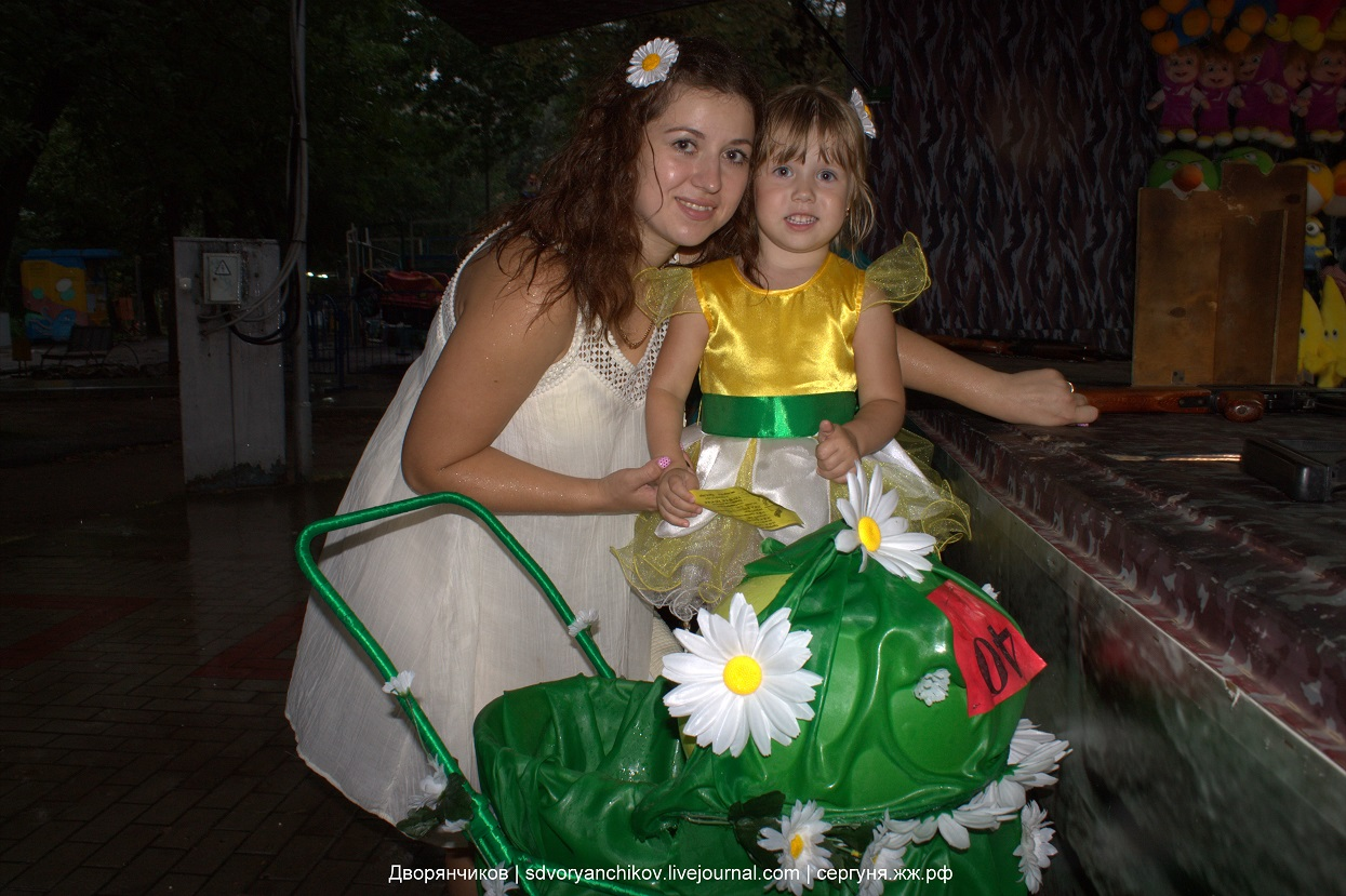 Парад колясок - участники №40 - парк ВГС - Волжский