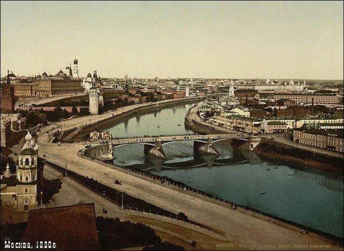 Москва сто лет назад (12 фото)