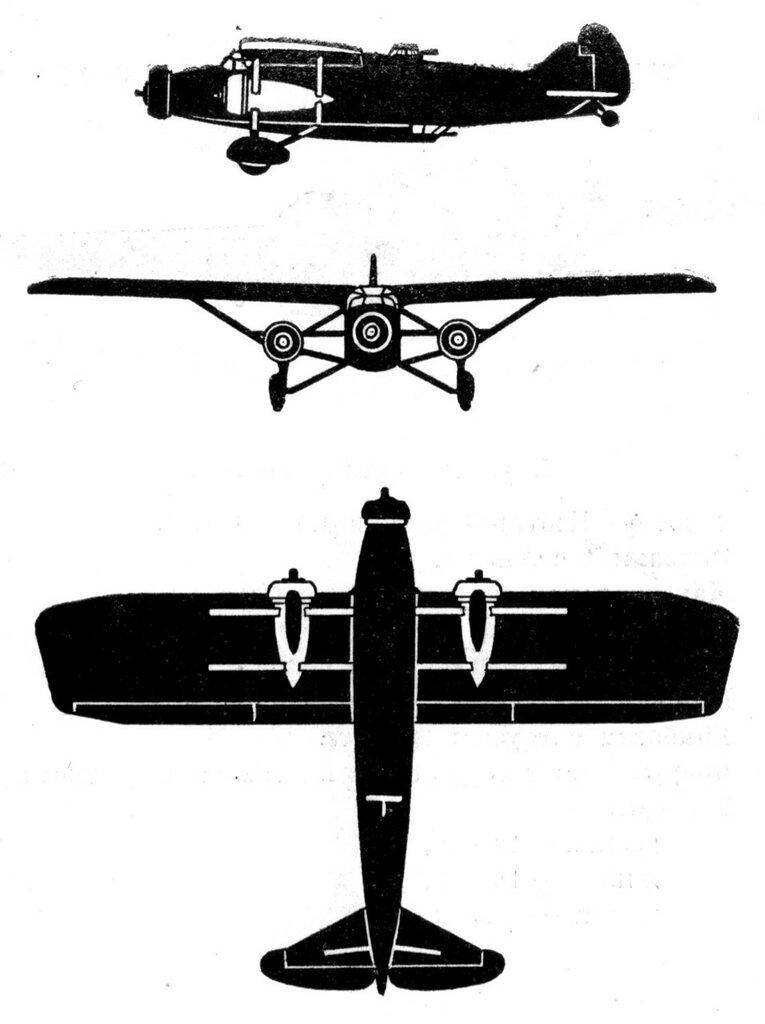 Силуэты итальянских самолетов (1939) 027