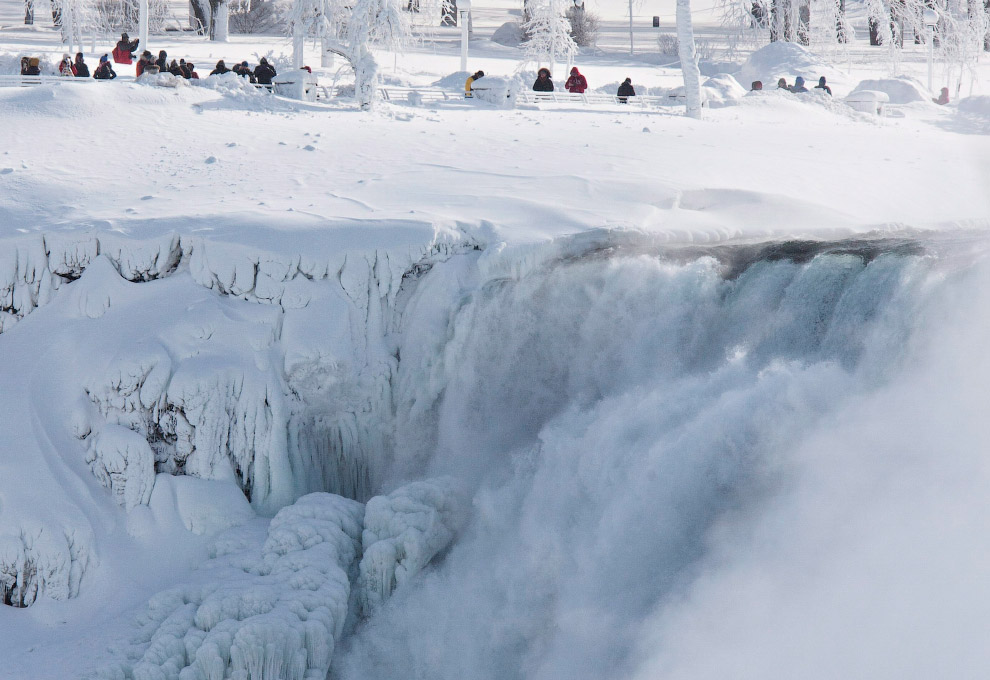 3. Водопад появился благодаря Висконсинскому оледенению — последней ледниковой эпохи в Северной
