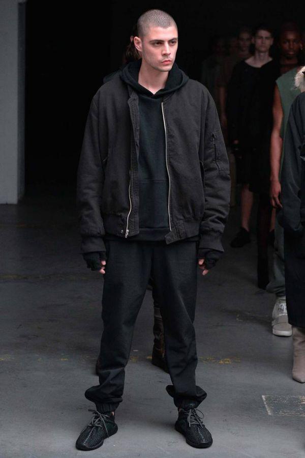Канье Уэст представил коллекцию для adidas Originals