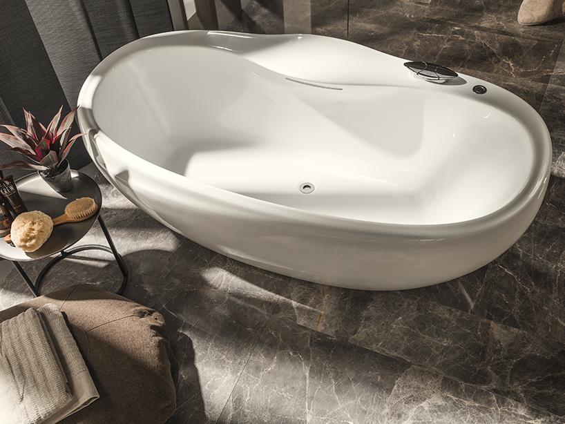 Дизайн ванной комнаты от студии Zaha Hadid