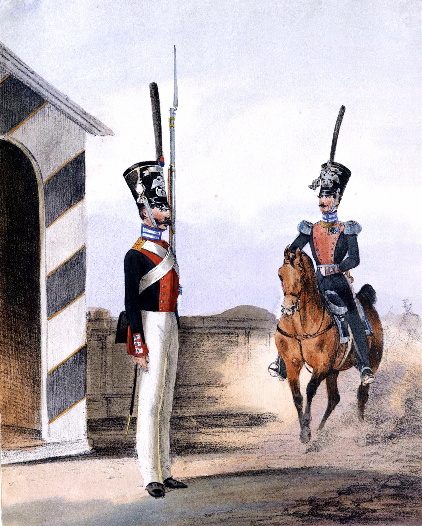 020. Kaiserthum Russland Garde-Grenadier-Regiment Kaiser von Österreich / Российская империя