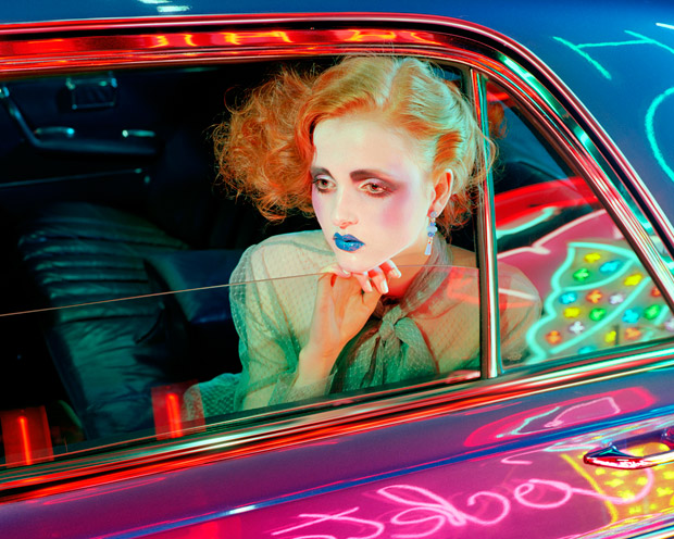Top model Madison Stubbington teams up with fashion photographer Miles Aldridge at 2b Management for