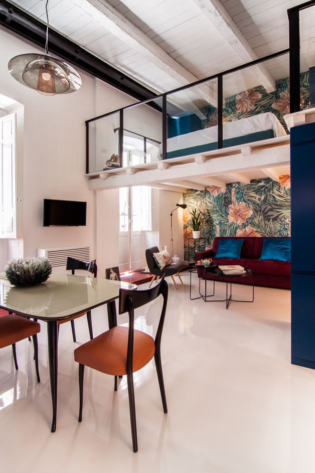 Cobalt Apartment by Mauro and Matteo Soddu