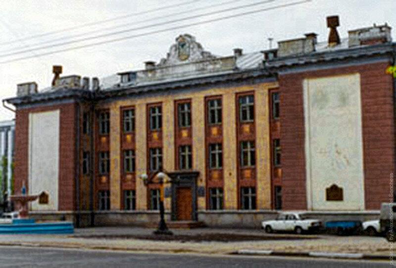 Белгород, семинария 1999-2000