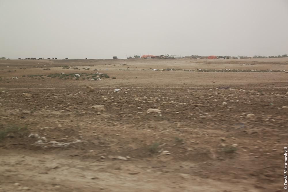 Иордания, по дороге к месту крещения Христа