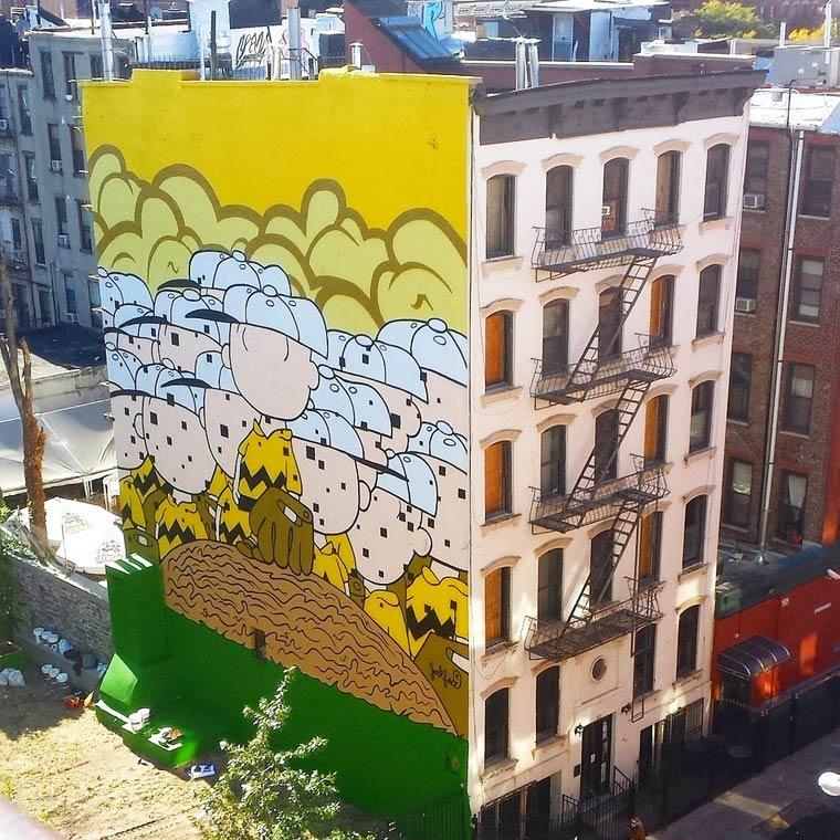 Jerkface - Between street art and pop culture