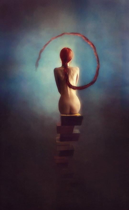 Surreal Digital Art by Ekaterina Zagustina